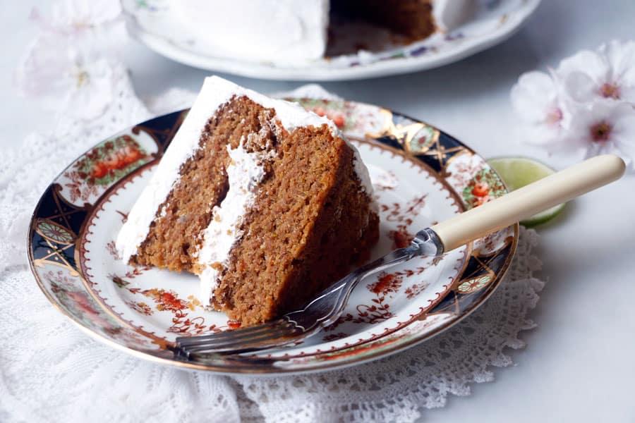 Grain-Free Carrot Cake (vegan)